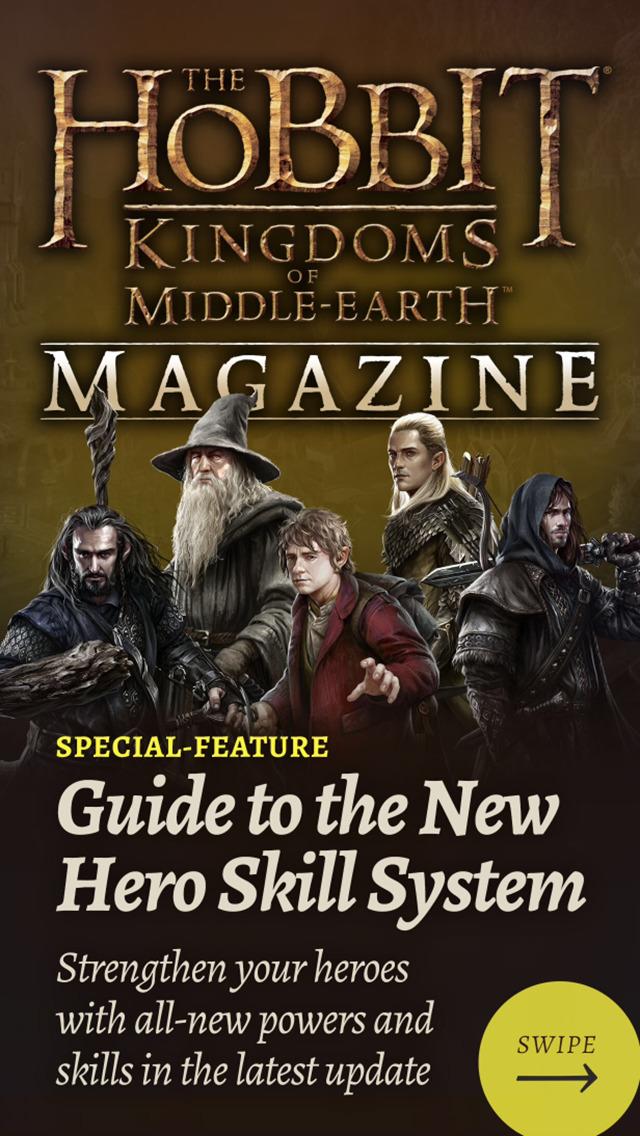 The Hobbit Kingdoms of Middle-earth Magazine screenshot 1