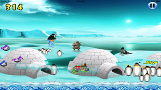 Happy Pinguin Jump : Wourld Tour screenshot 1