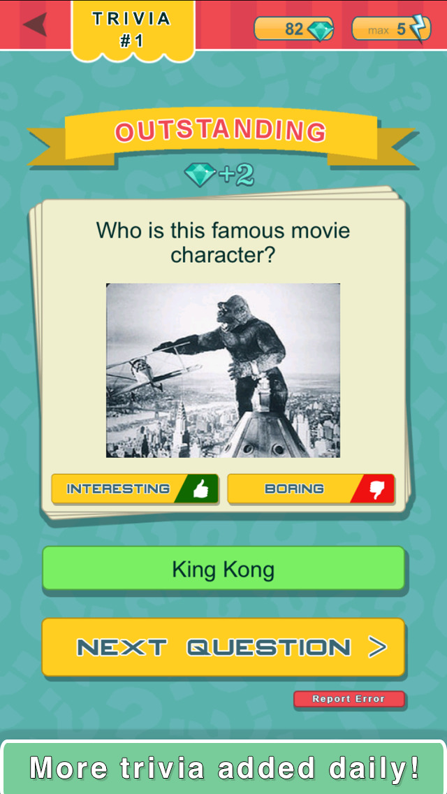 Trivia Quest™ Pop Culture - trivia questions screenshot 2