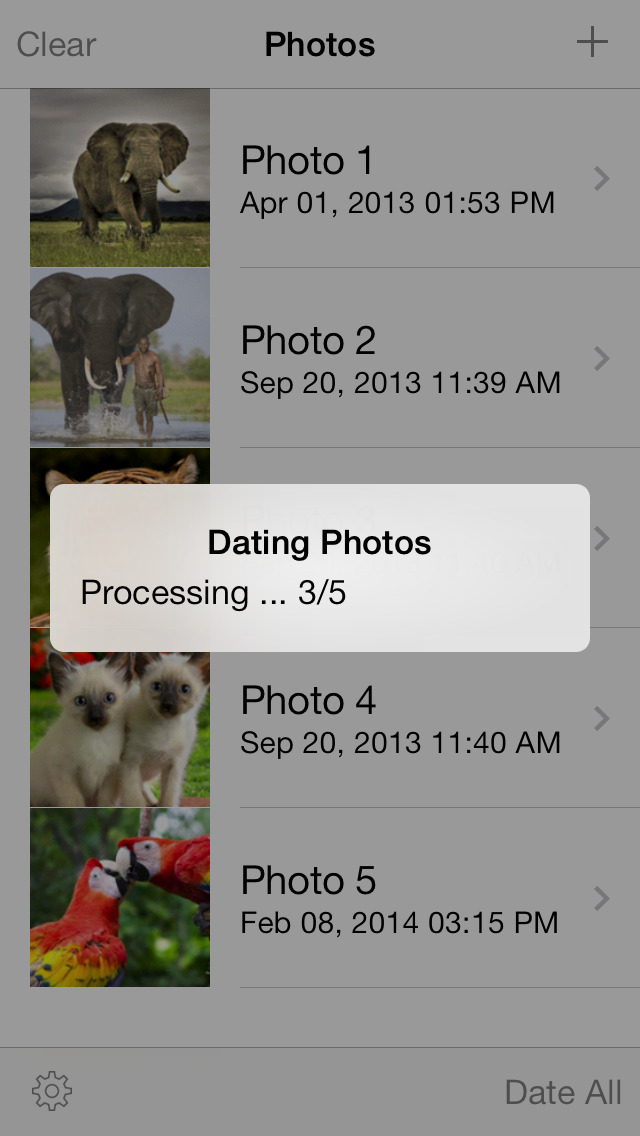 Photo Date & Photo Time Stamp Camera - Add Date & Timestamp to One or All Photos screenshot 4