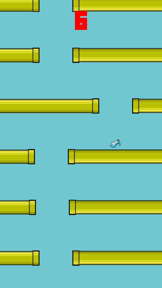 Flappy Circle Bird screenshot 3