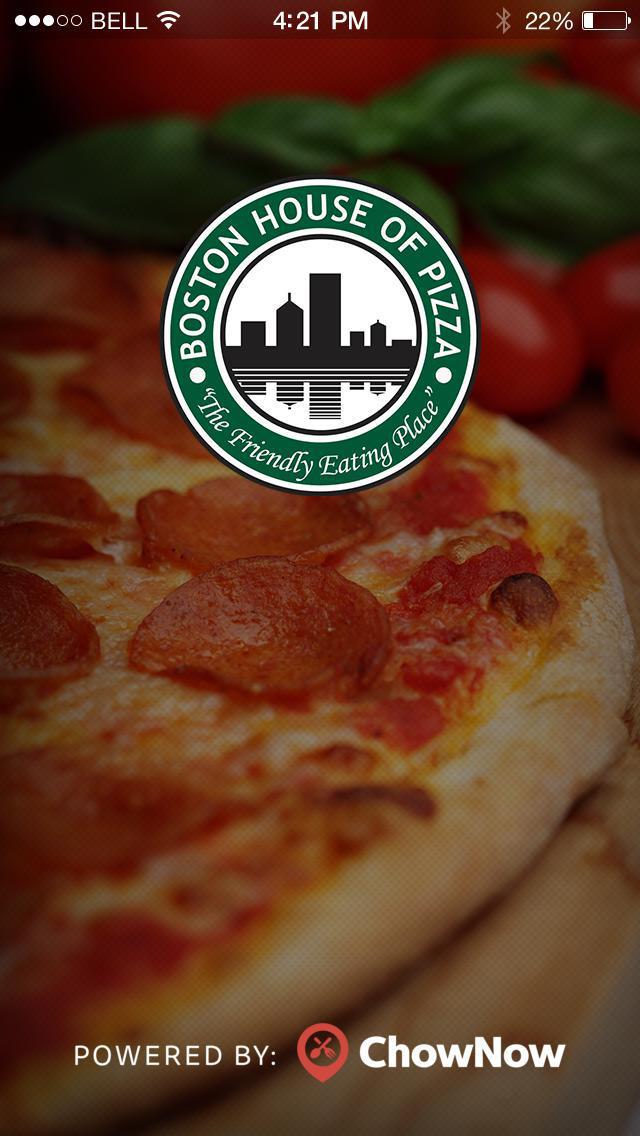 Boston House of Pizza screenshot 1