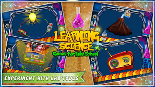 Learning Science Games For Kids School screenshot 3