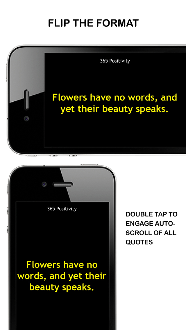 365 POSITIVITY: Best App For Daily Inspirational Quotes, Wise Sayings & Healing Life Messages screenshot 4