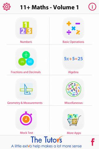11+ Maths Vol. I Lite by The Tutors - náhled