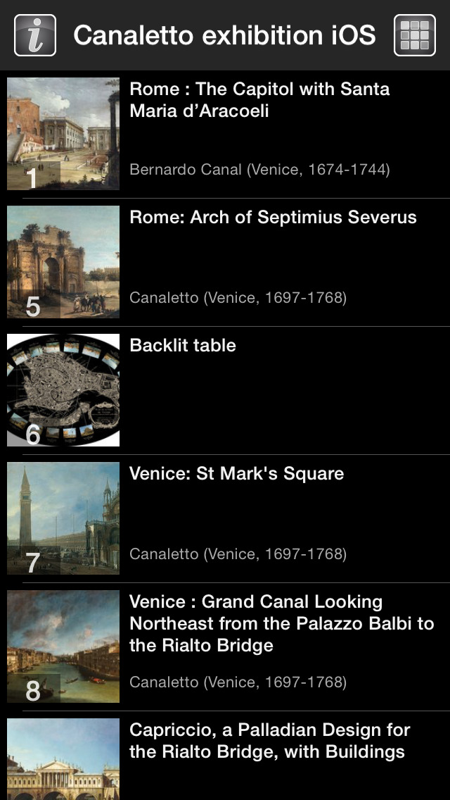 CANALETTO, Rome – London – Venice. The Triumph of Light HD screenshot 3