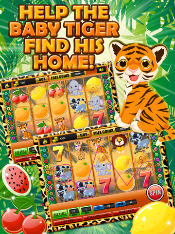 Ace Classic Vegas Baby Tiger Slots - Lucky Safari Gambling Casino Slot Machine Games Free screenshot 7