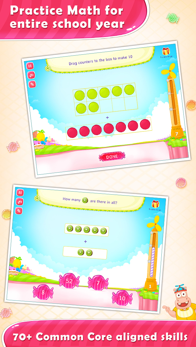 1st Grade Math Learning Games screenshot 2