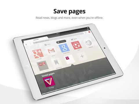 Opera Mini web browser screenshot 9