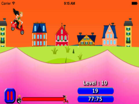 Motorcycle City : Fast And Fun Racing On The Hills screenshot 8