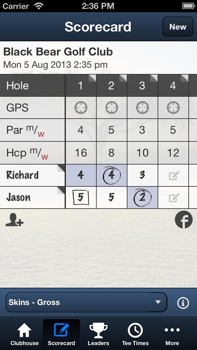 Black Bear Golf Club (FL) screenshot 4