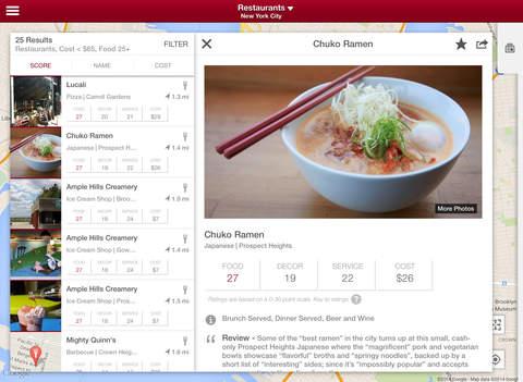 Zagat - Restaurant Ratings & Reviews screenshot #3