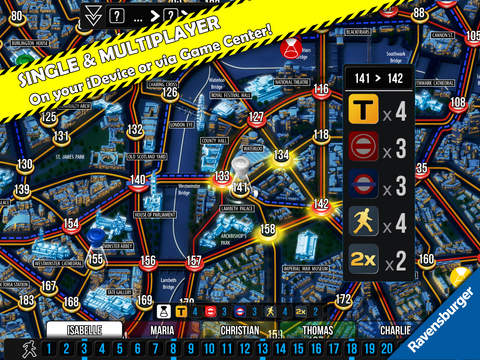 Scotland Yard screenshot 6