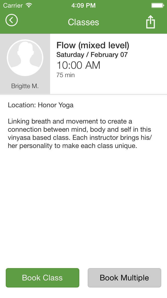 Honor Yoga screenshot #4