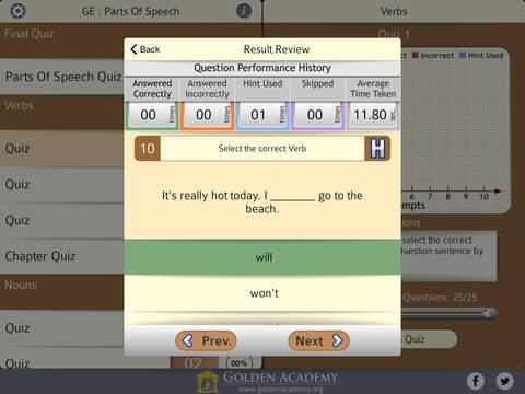 Grammar Expert : Parts Of Speech FREE screenshot 10