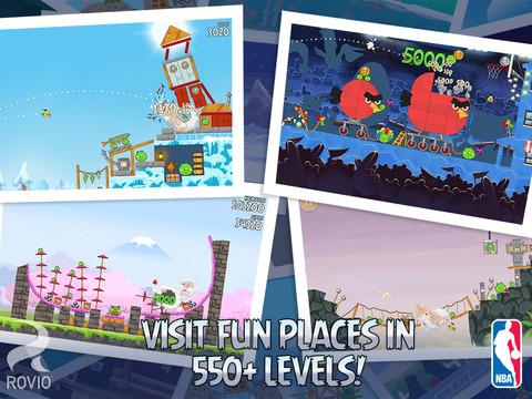 Angry Birds Seasons HD screenshot 5