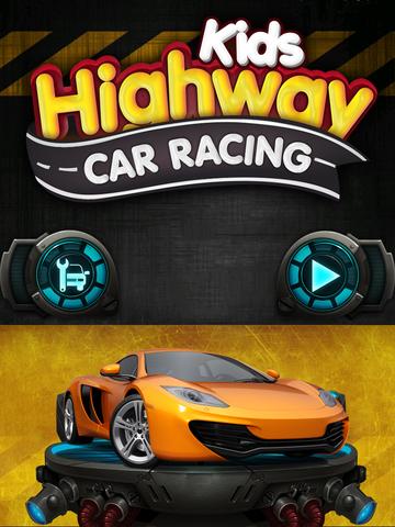 Kids Highway Car Racing screenshot 6