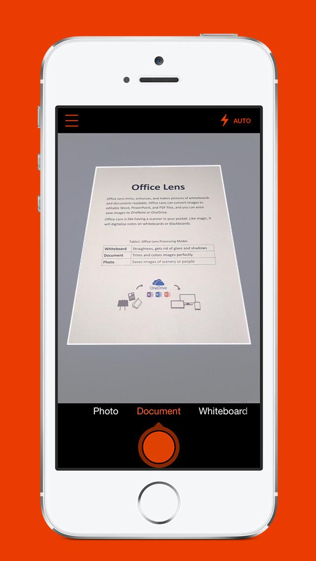 Microsoft Office Lens PDF Scan screenshot #1