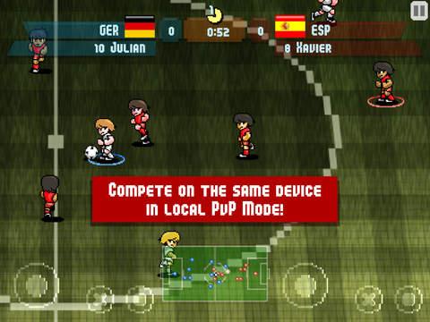 Pixel Cup Soccer screenshot 9