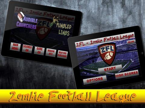 Zombie Football League - ZFL Free screenshot 6