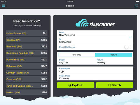 Skyscanner – travel deals screenshot 5