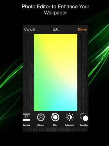 Screen Lock: Custom Screen Wallpaper and Background Editor screenshot 2