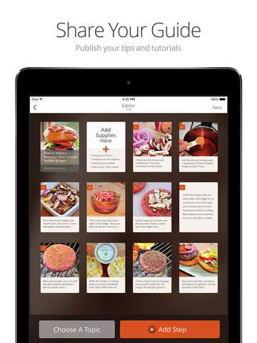 Snapguide - How-tos, Recipes, Fashion, Crafts, iPhone Tips and Lifehacks screenshot 9