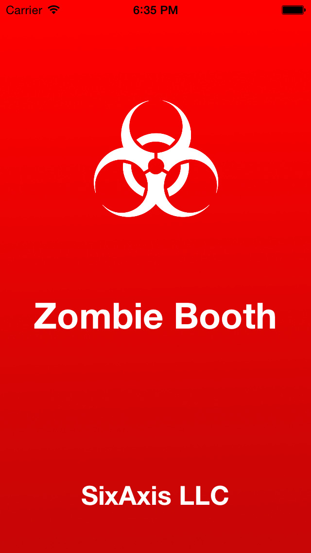 Zombie Booth - 3D Zombify Friends Face Makeup, Halloween Photo Effects Editor screenshot 1