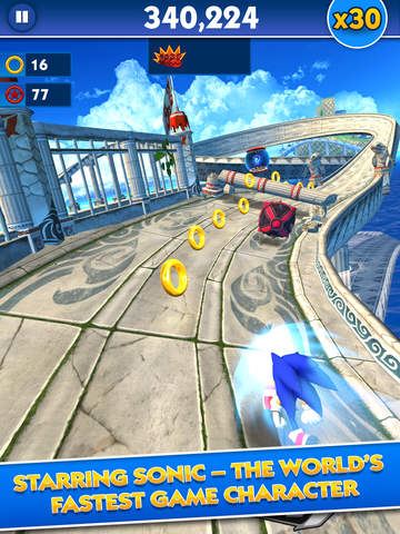 Sonic Dash - Endless Runner screenshot 7