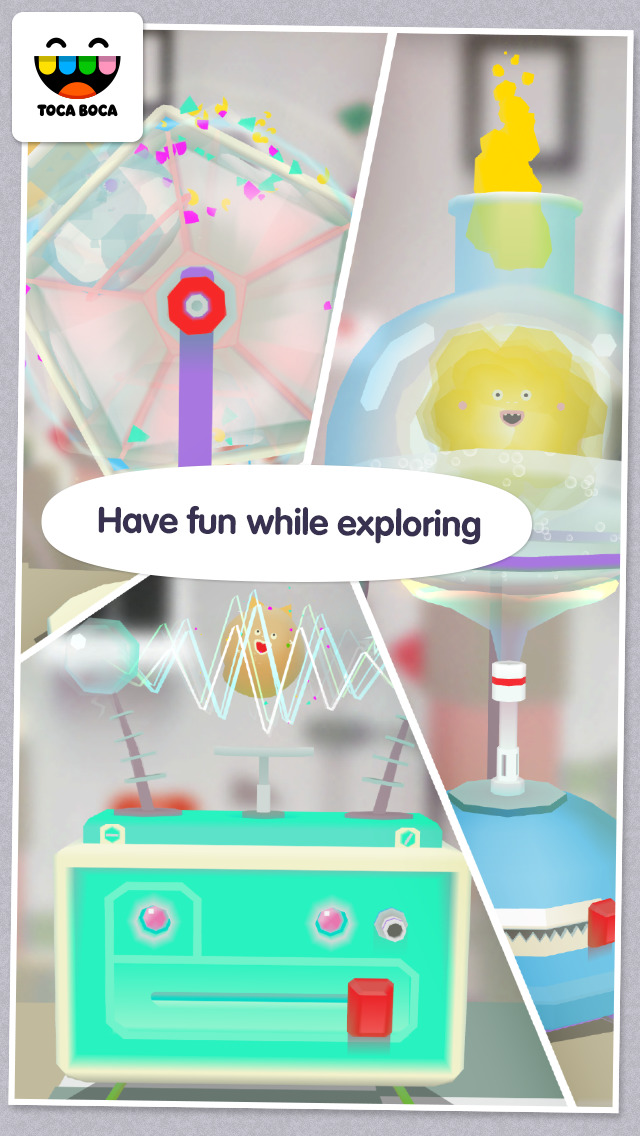 Toca Lab: Elements screenshot 5