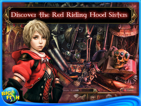 Dark Parables: The Red Riding Hood Sisters HD - A Hidden Object Fairy Tale (Full) screenshot 1