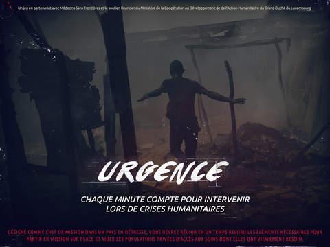 Urgence - Chaque minute compte pour intervenir lors de crises humanitaires screenshot 1