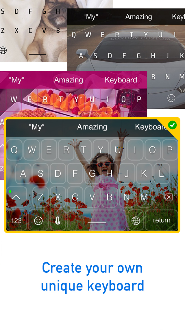 Wallpapers For Keyboard – Personalize Keyboard With Photos From Your Camera Roll screenshot 3