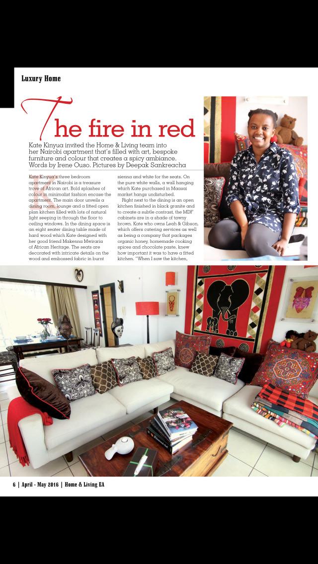 HOME & LIVING East Africa Mag screenshot 2