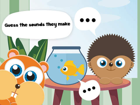 Play with Baby Pets - The 1st Sound Game for a toddler and a whippersnapper free screenshot 7