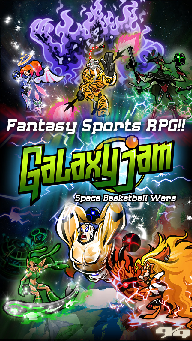 Galaxy Jam: Space Basketball Wars screenshot 1