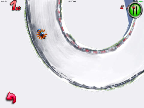 A Ride Sledge : Escape Chase Future Sprint Battle Version HD screenshot 7