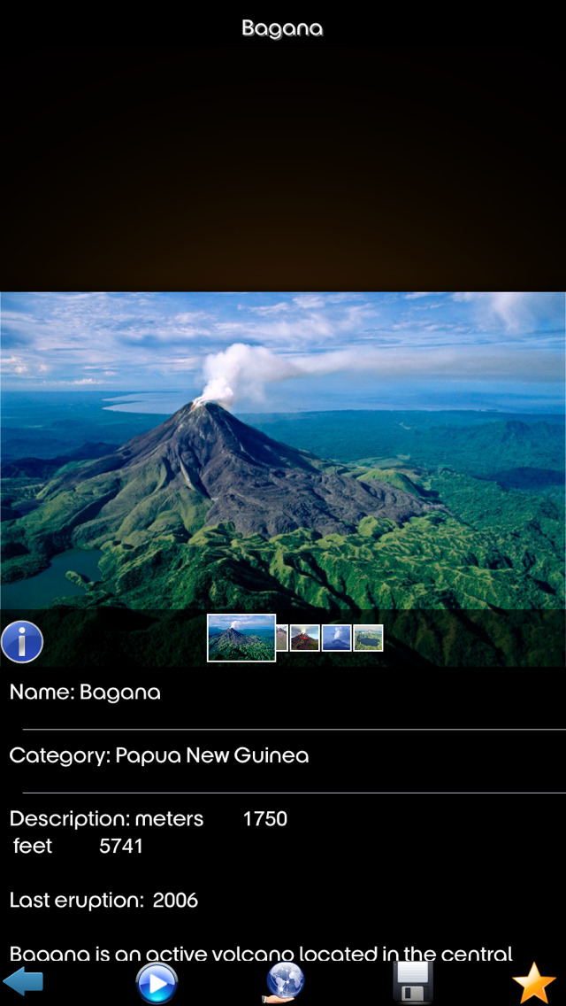 Volcanos Info+ screenshot 5