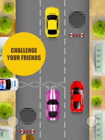 Pixel Traffic - best one tap 8 bit style game screenshot 6