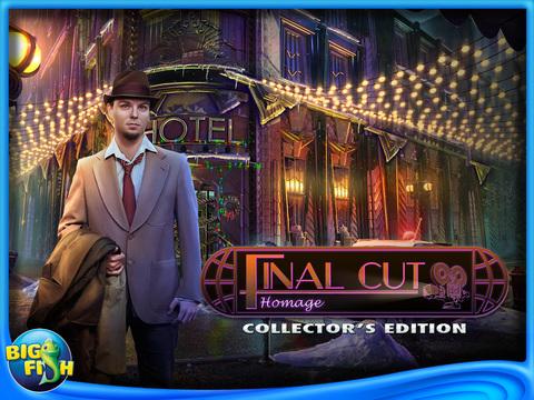 Final Cut: Homage HD - A Hidden Objects Mystery Game screenshot 5