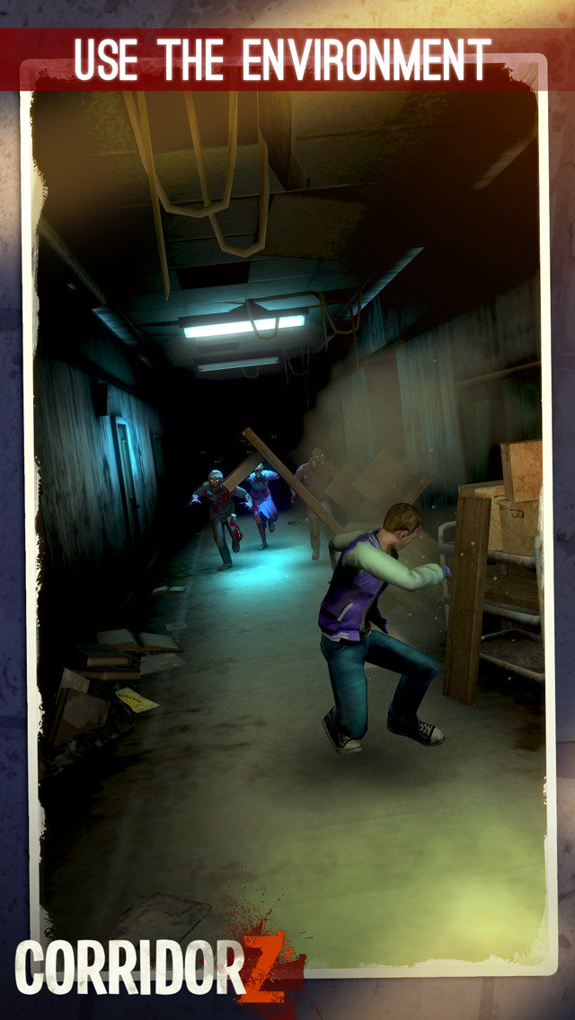 Corridor Z - Inverted Zombie Runner screenshot 3