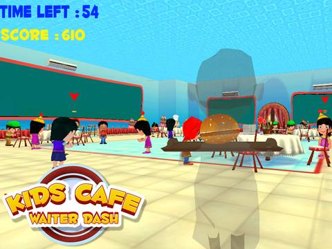 Kids Cafe Waitress Dash screenshot 9
