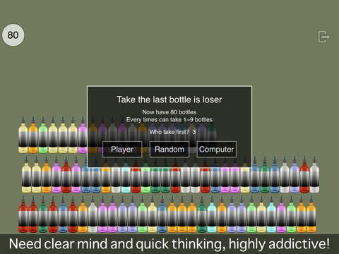 Puzzle of Taking how many bottles ( PK in bar ) screenshot 4
