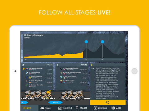 Cycling App - Tour de France 2016 edition Pro screenshot 6
