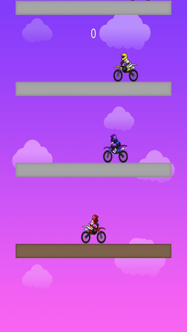 Motorcycle TAP TAP screenshot 2