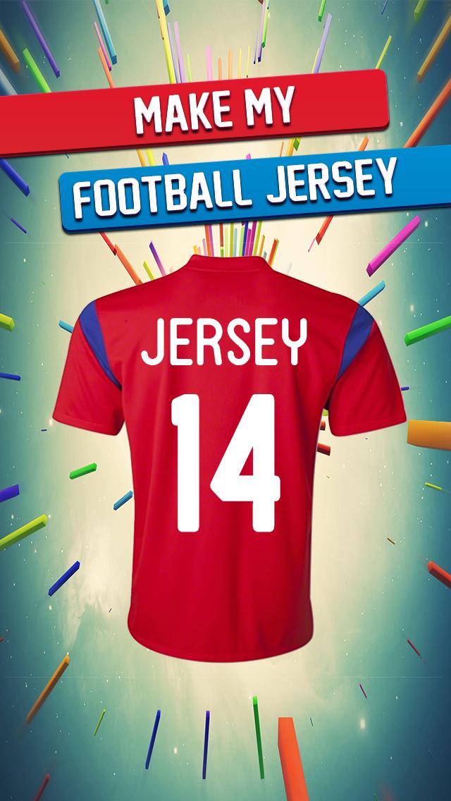 Make My Football Jersey screenshot 1