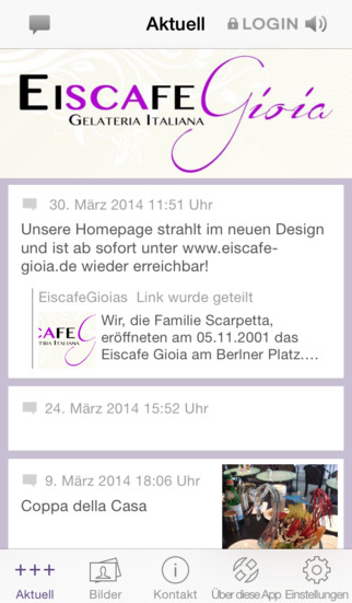 Eiscafé Gioia - Kronberg screenshot 1