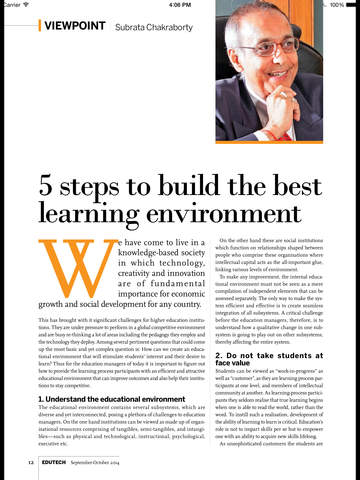 EDU Magazine screenshot 7