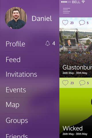 WeeGo App - náhled