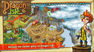 The Mystery of Dragon Isle screenshot 5